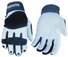 BalancePlus White Leather Glove for Men